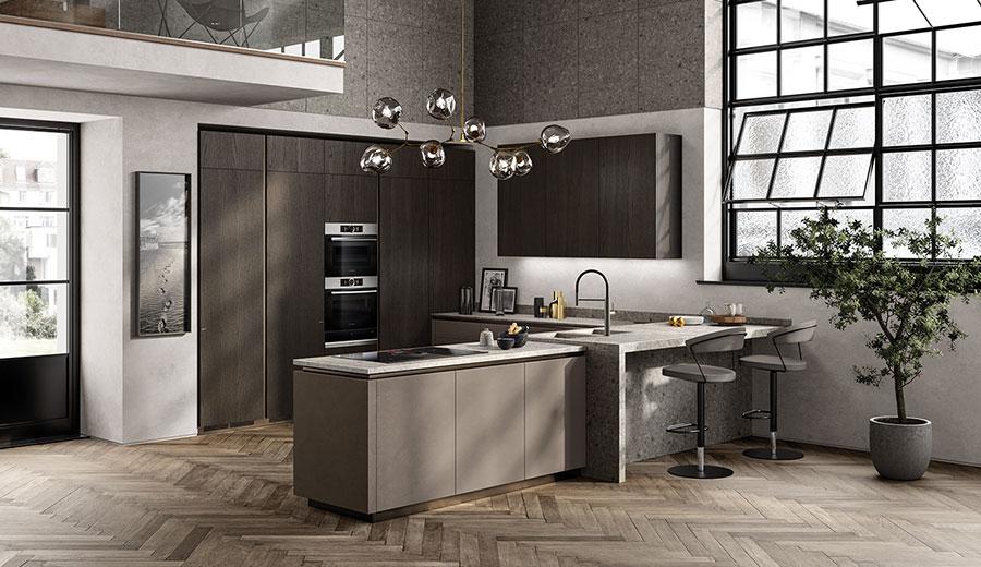 Idee per arredare una cucina a vista 09