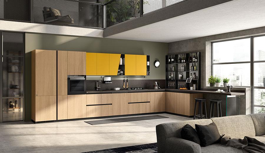Idee per arredare una cucina a vista 10