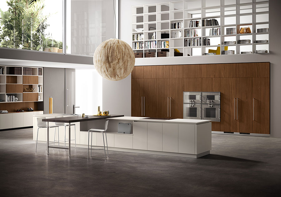 Idee per arredare una cucina a vista 12