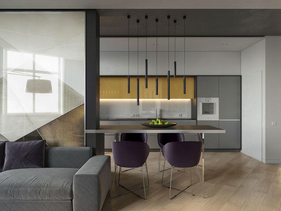 Muretto divisorio cucina soggiorno 20 soluzioni originali for Soluzioni soggiorno