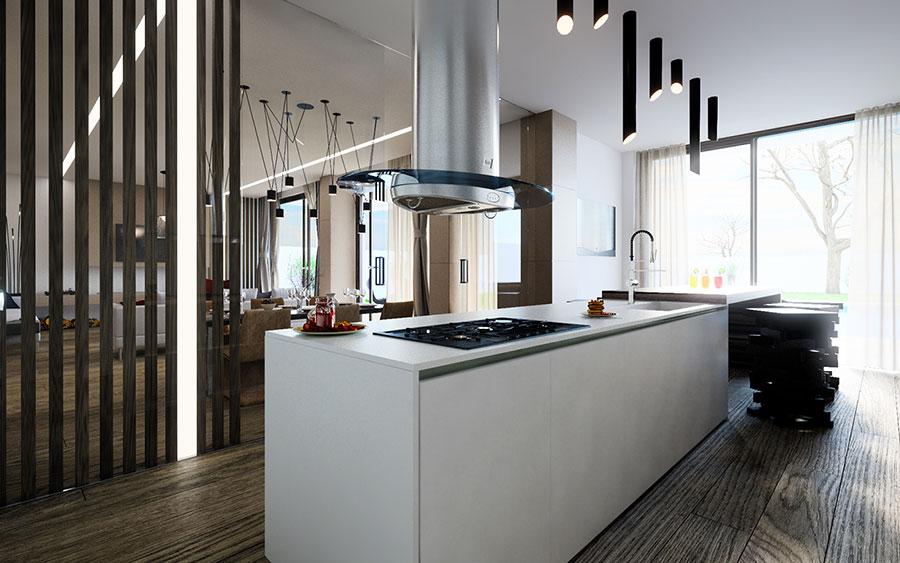 Idee per arredare una cucina a vista 39