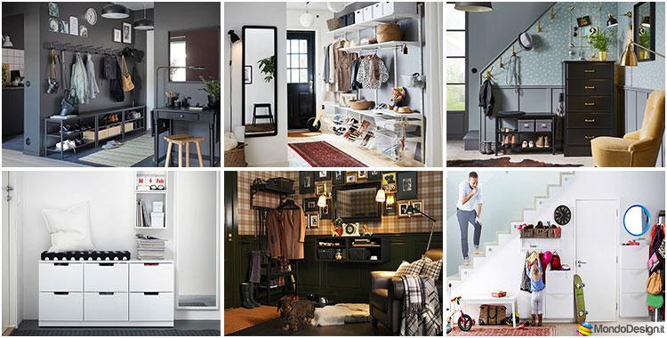 Armadio Guardaroba Ingresso Ikea.Arredare Ingresso Ikea 37 Idee In Stile Moderno E Classico