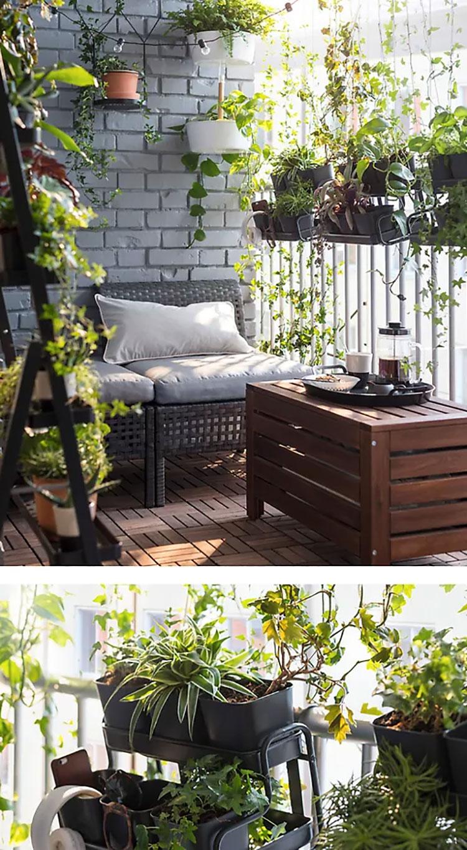 Tavolino Per Balcone Ikea come arredare un piccolo balcone con ikea | mondodesign.it