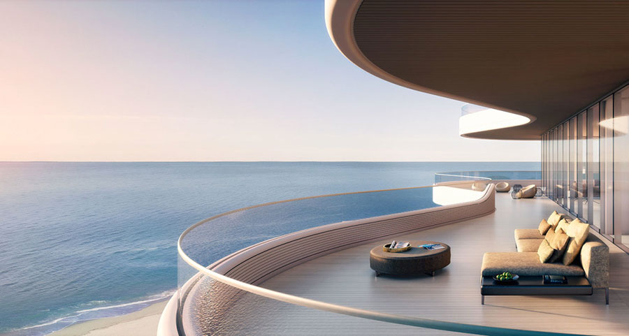 Idee di arredamento per terrazzo di design n.04