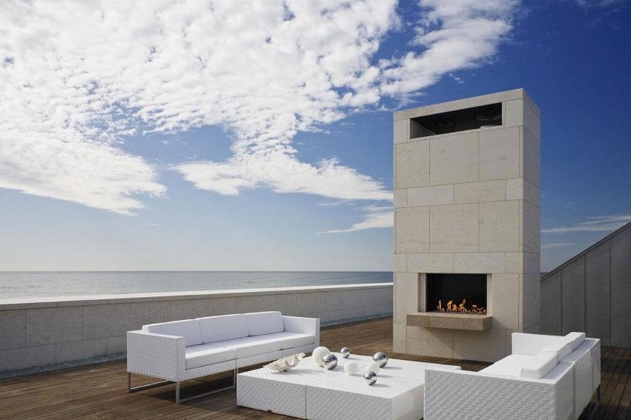 Idee di arredamento per terrazzo di design n.05