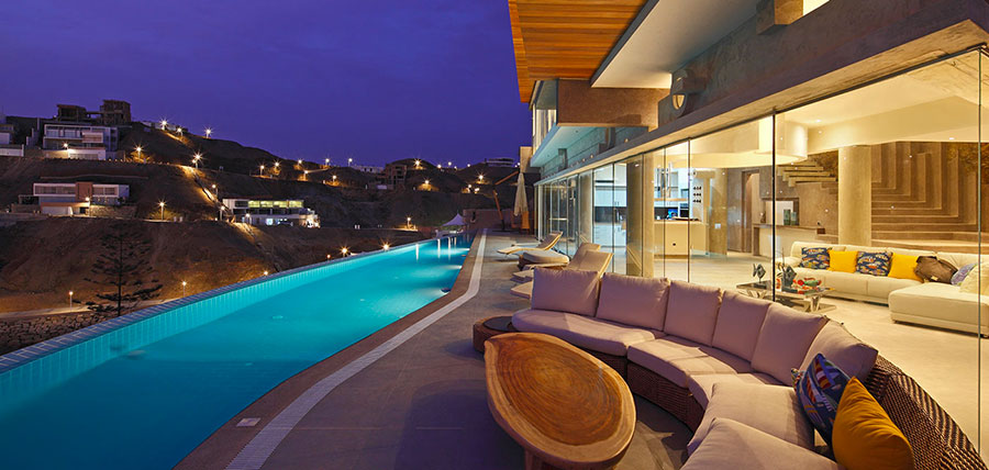 Idee di arredamento per terrazzo di design n.06
