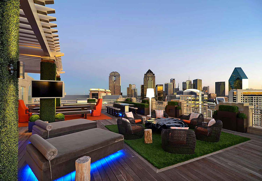 Idee per abbellire un terrazzo con elementi di arredo n.5
