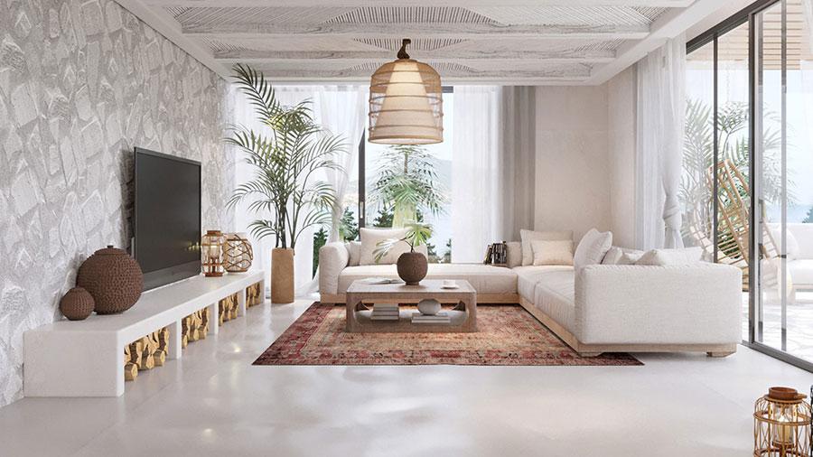 Come arredare una casa rustica ecco 3 fantastici progetti for Casa moderna rustica