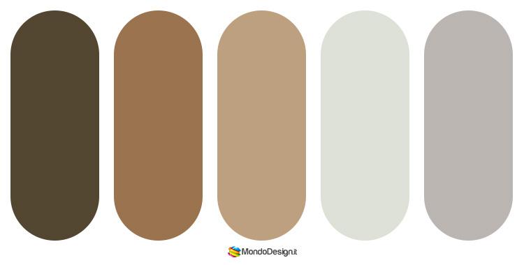 Palette abbinamenti color tortora 2