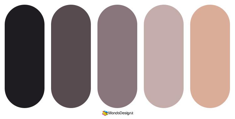Palette abbinamenti color tortora 3