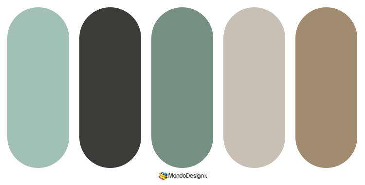 Palette abbinamenti color tortora 4