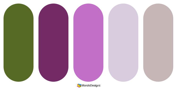Palette abbinamenti color tortora 5
