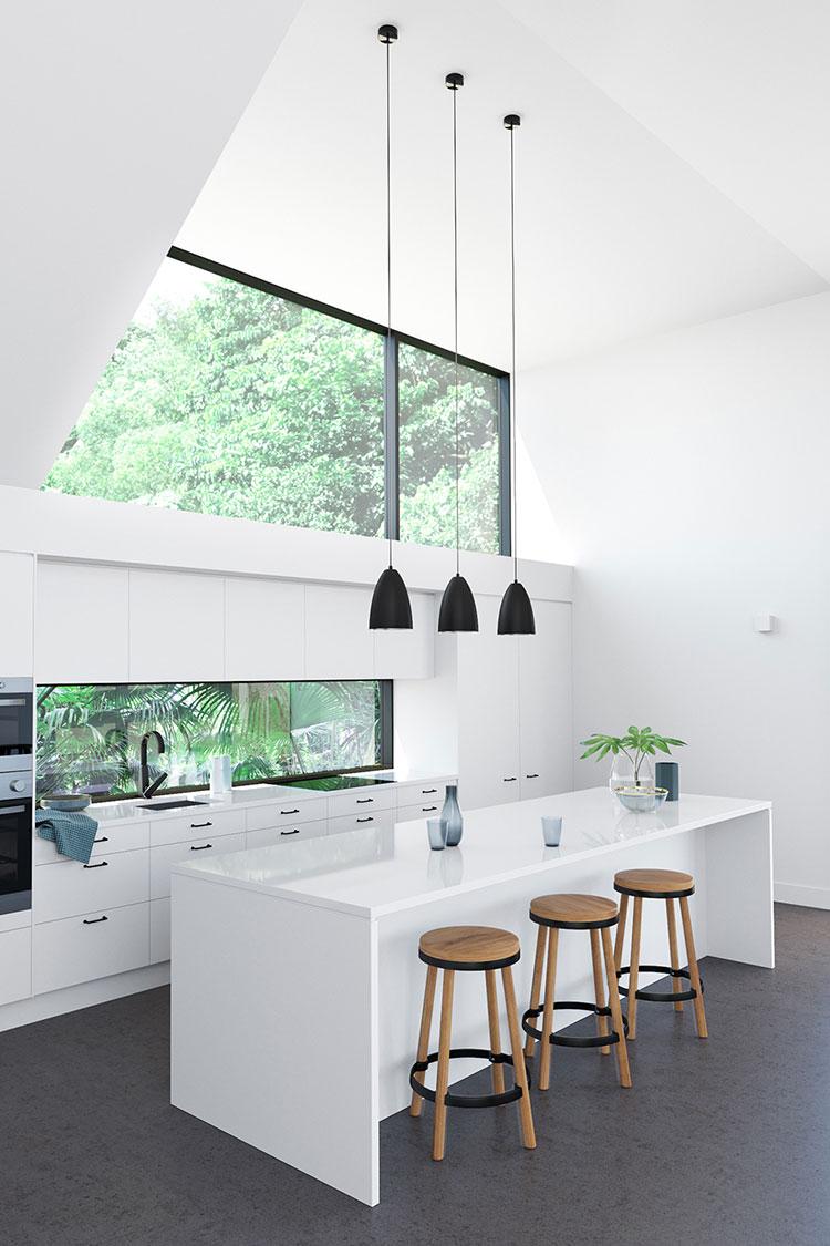 Idee per arredare una cucina bianca n.03