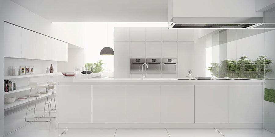 Idee per arredare una cucina bianca n.06