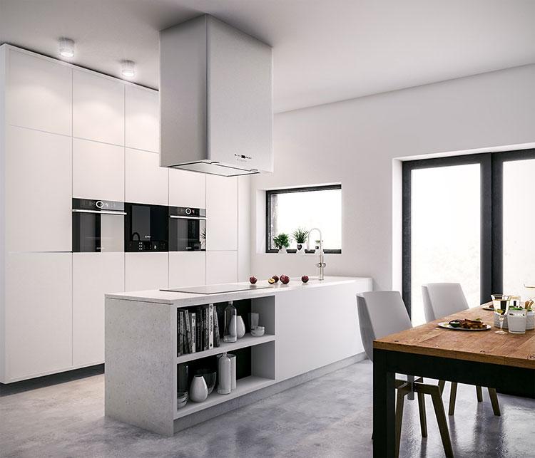 Idee per arredare una cucina bianca n.08