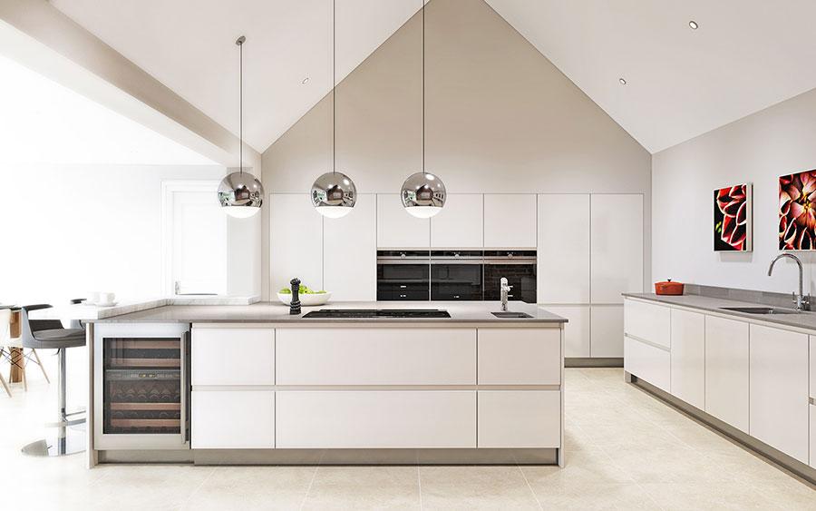 Idee per arredare una cucina bianca n.09