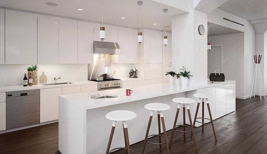 Idee per arredare una cucina bianca n.10