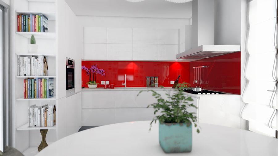 Idee per arredare una cucina bianca n.15
