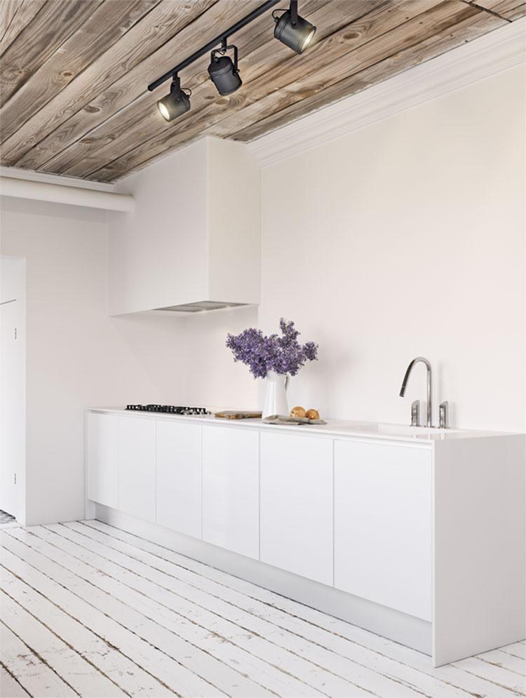 Idee per arredare una cucina bianca n.16