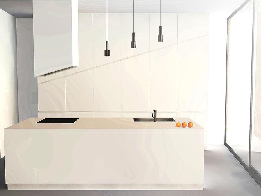 Idee per arredare una cucina bianca n.17