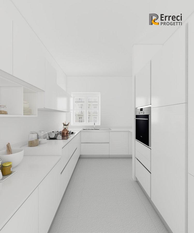 Idee per arredare una cucina bianca n.22
