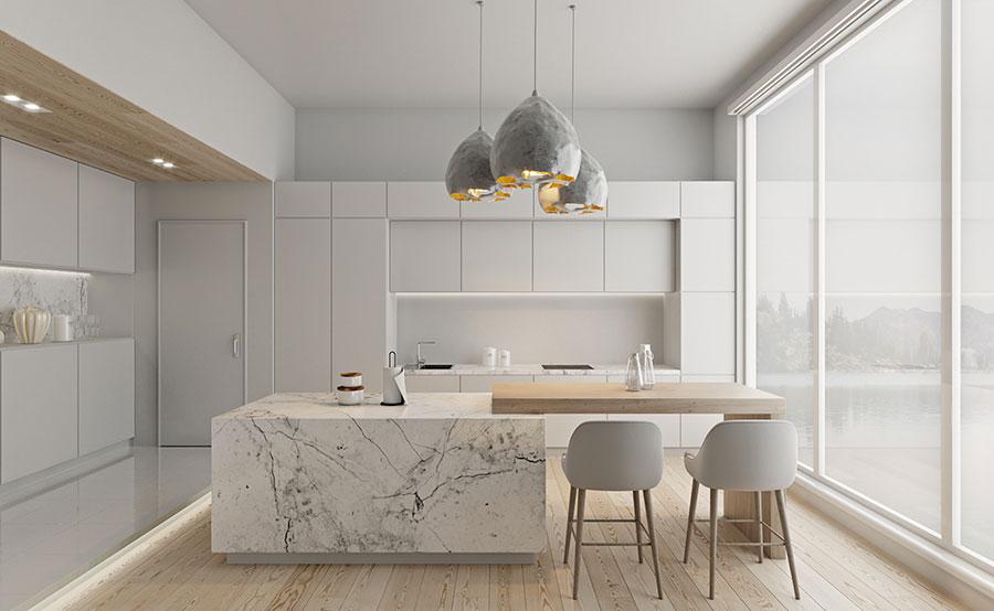 Idee per arredare una cucina bianca n.23