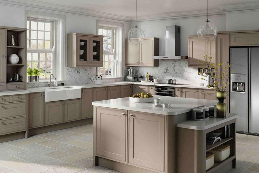 Cucina Color Tortora: 33 Idee per Arredi e Abbinamenti ...
