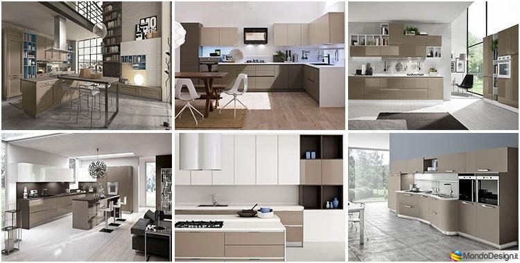 Arredamento Moderno Bianco E Tortora.Cucina Color Tortora 33 Idee Per Arredi E Abbinamenti Mondodesign It