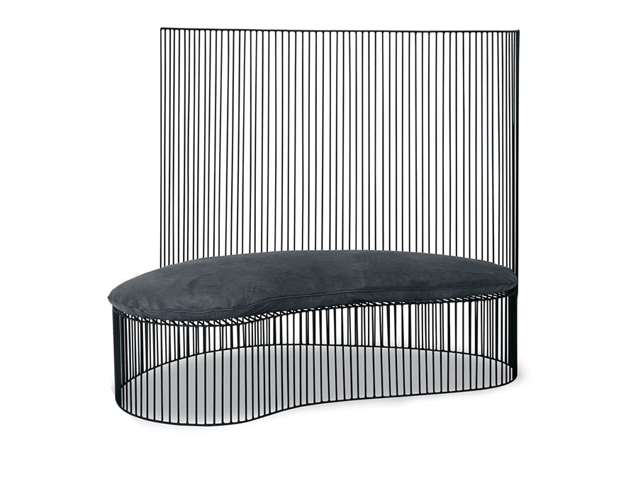 Modello di panca per ingresso di design n.03