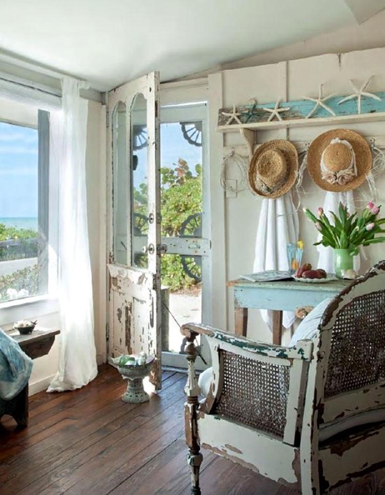 Come scegliere gli accessori per una casa al mare shabby chic 2