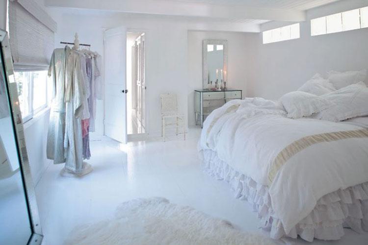 Come arredare la camera da letto di una casa al mare shabby chic 2
