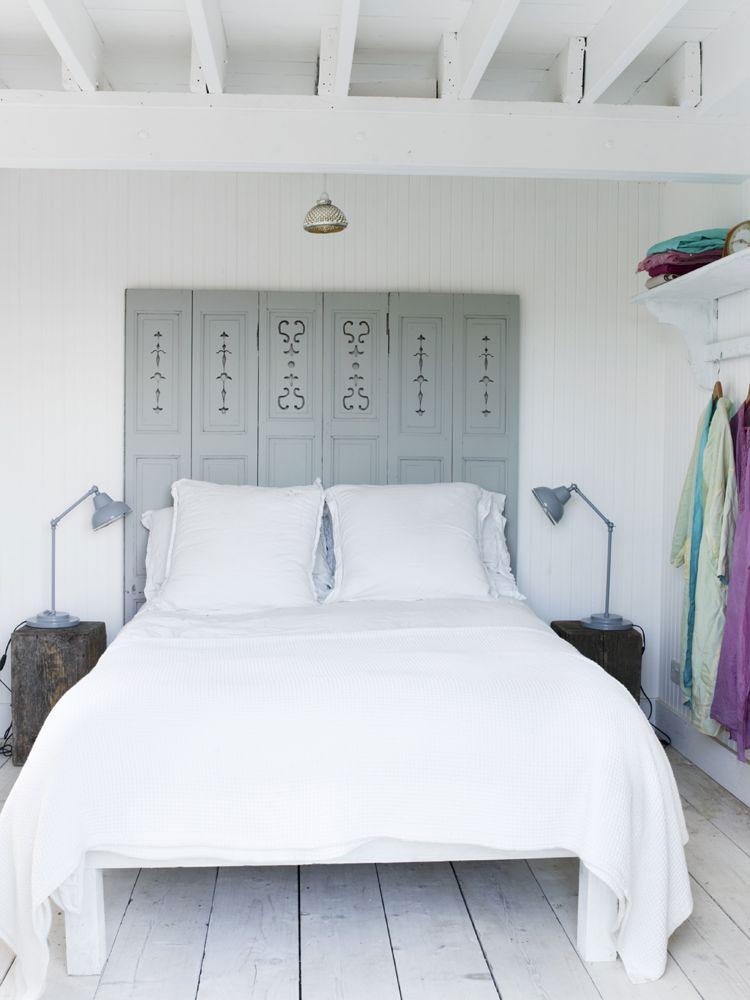 Come arredare la camera da letto di una casa al mare shabby chic 3