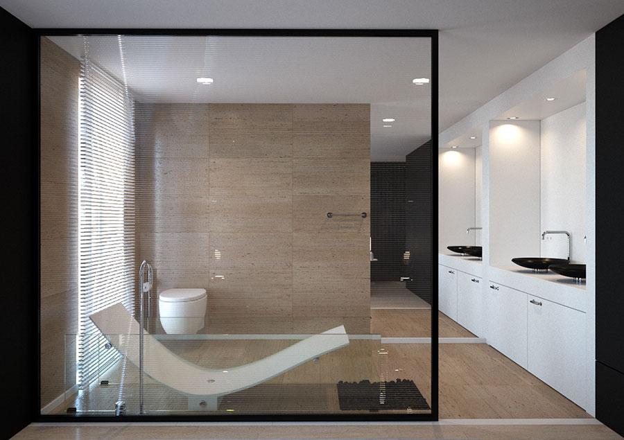 Arredamento completo per bagno in camera da letto n.02