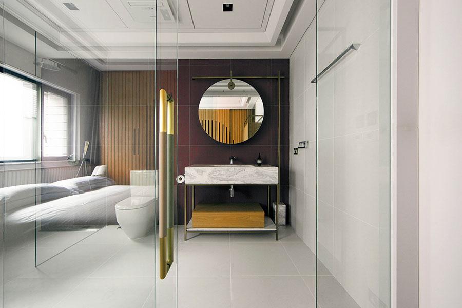 Arredamento completo per bagno in camera da letto n.05