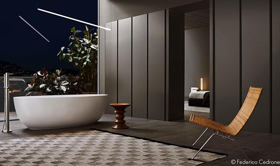 Arredamento completo per bagno in camera da letto n.11