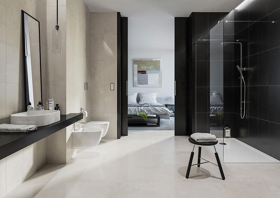Arredamento completo per bagno in camera da letto n.12
