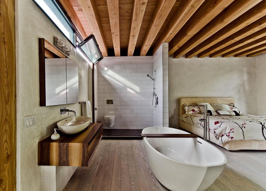 Arredamento completo per bagno in camera da letto n.15