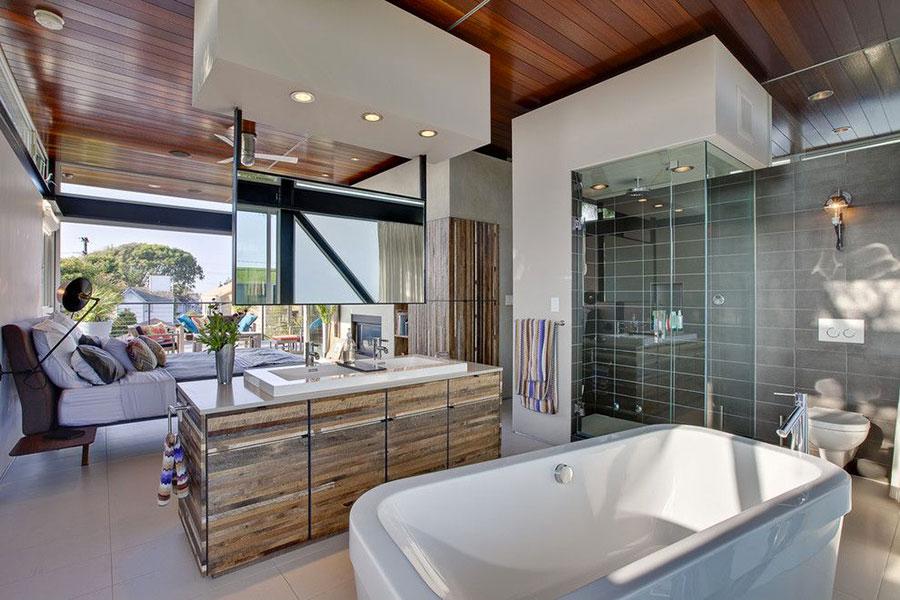 Arredamento completo per bagno in camera da letto n.16