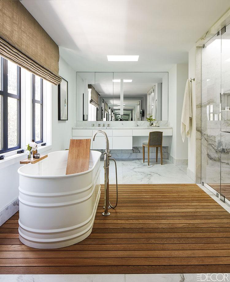 Idee per arredare un bagno rustico chic 4