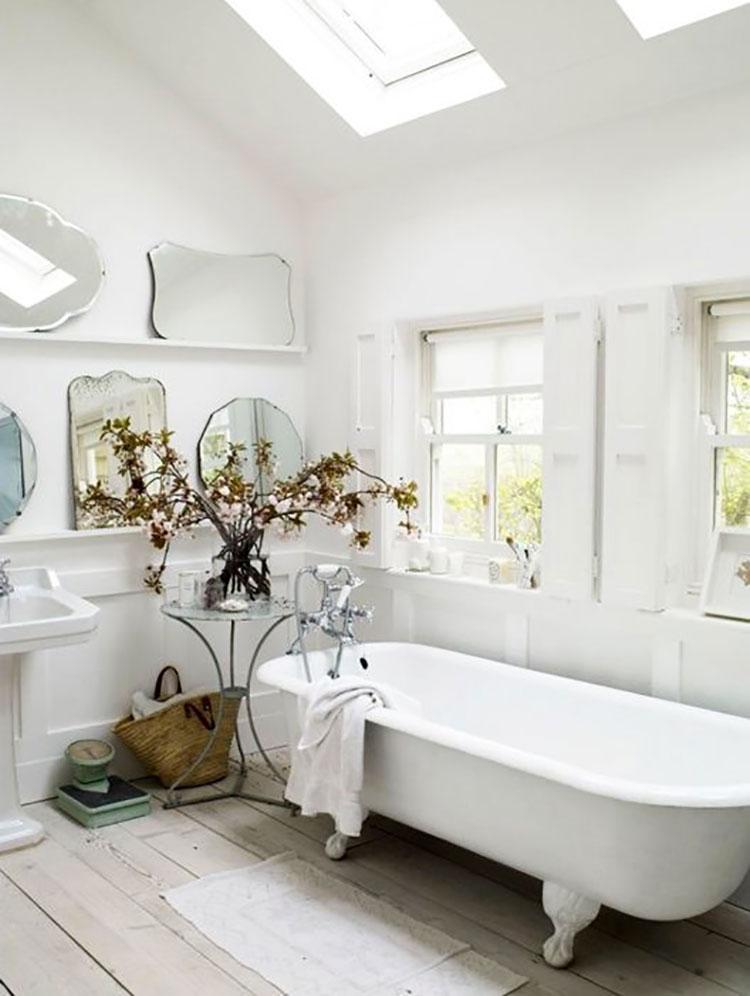 Idee per arredare un bagno rustico chic 5