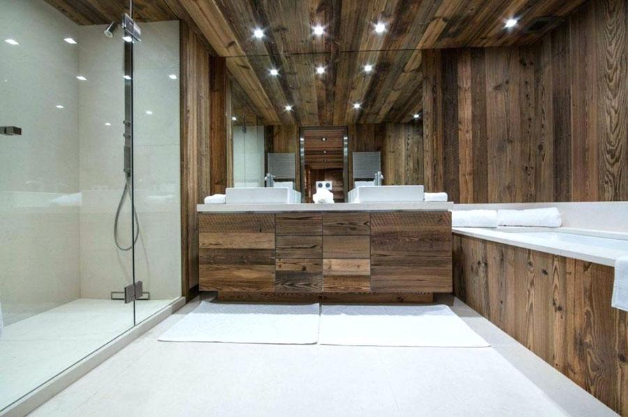 Idee per arredare un bagno rustico moderno 4