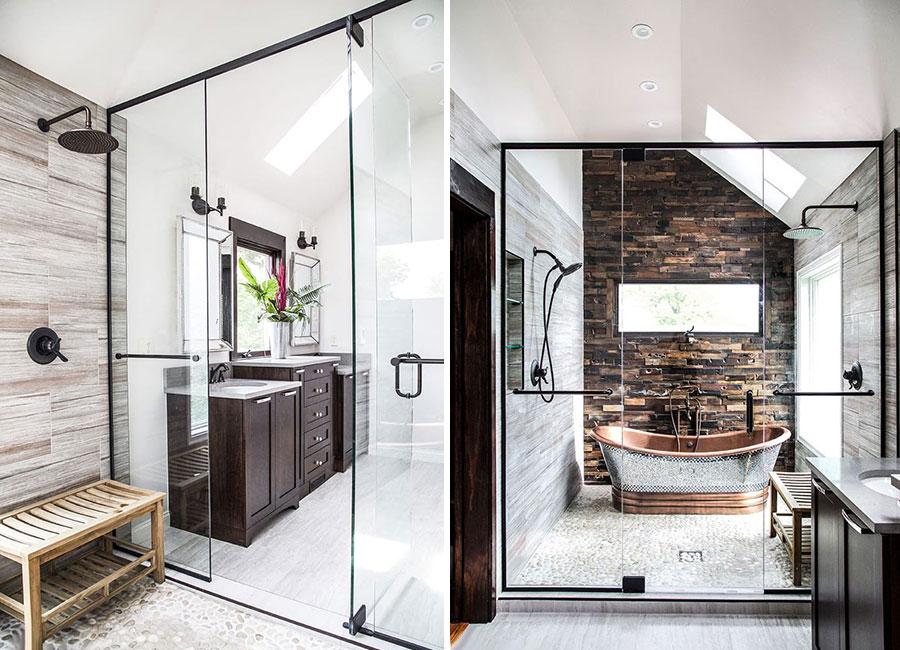 Idee per arredare un bagno rustico moderno 6