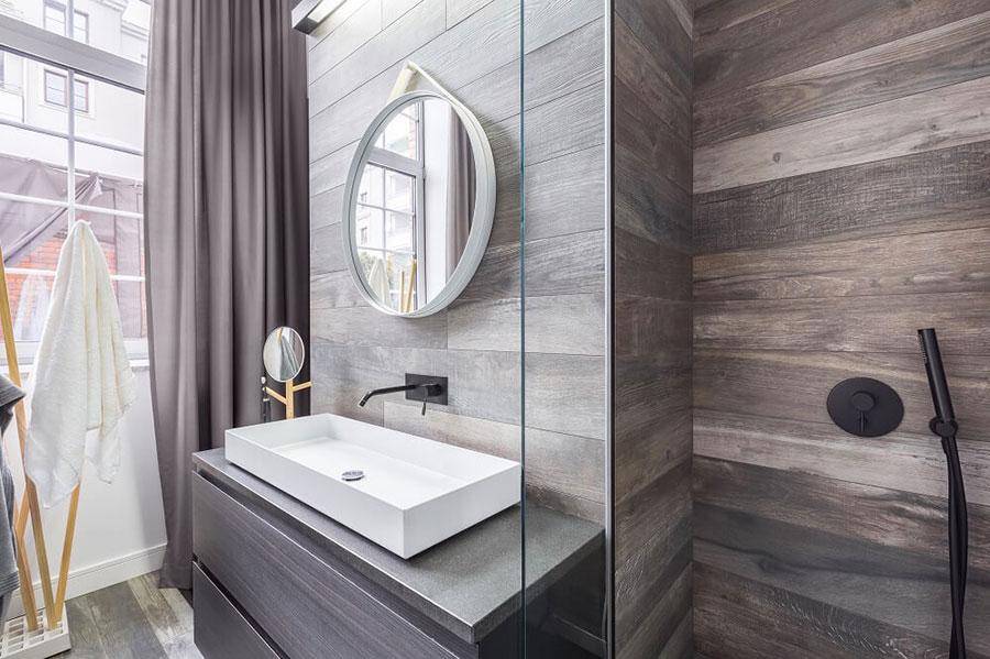 Quali rivestimenti scegliere per un bagno rustico 3