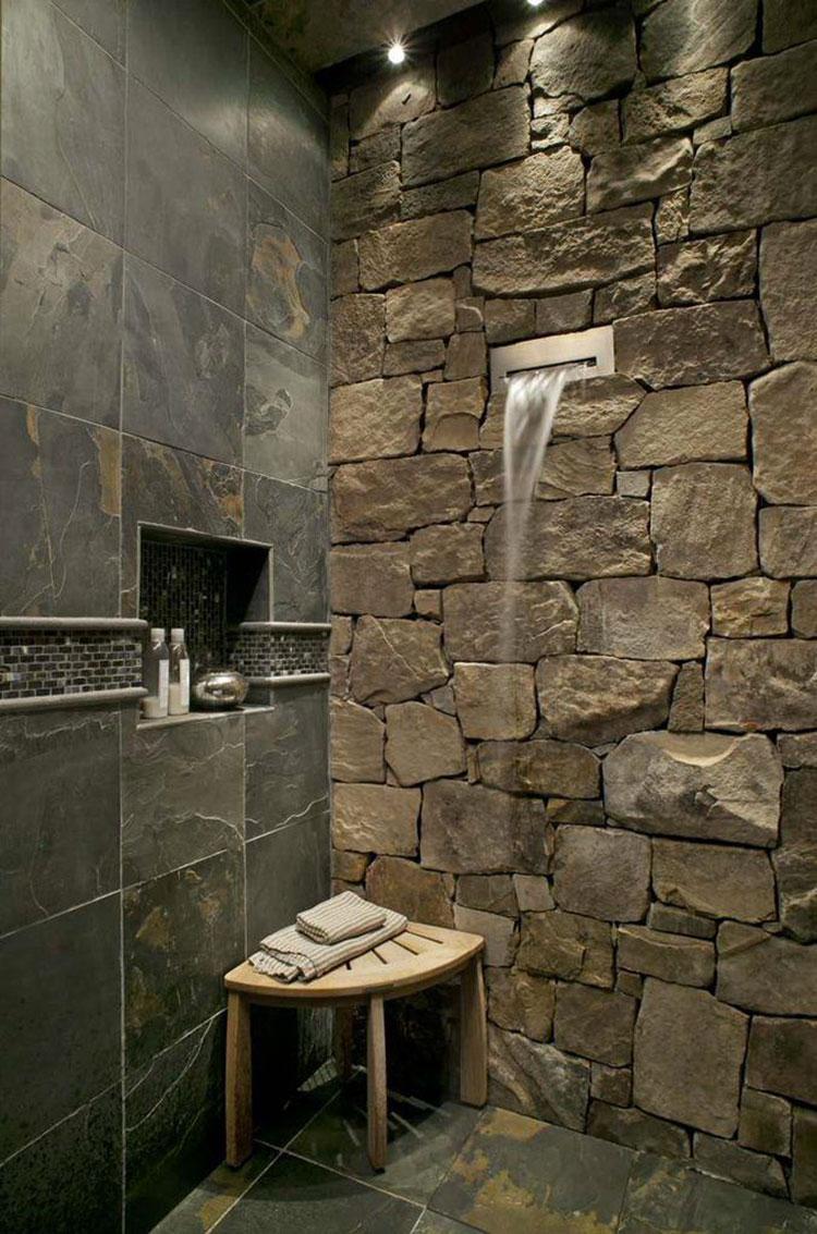 Quali rivestimenti scegliere per un bagno rustico 4