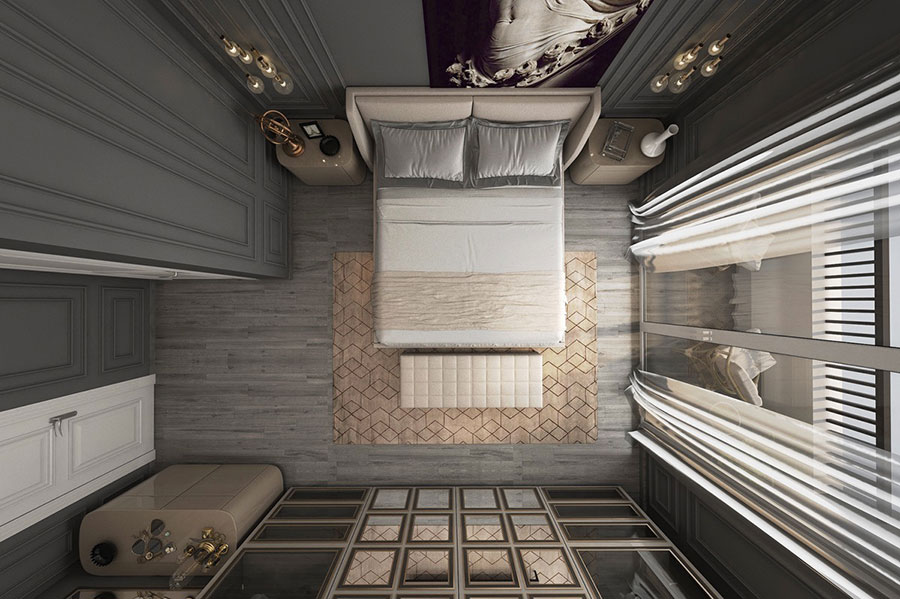 Idee per arredare camere da letto classiche moderne 02
