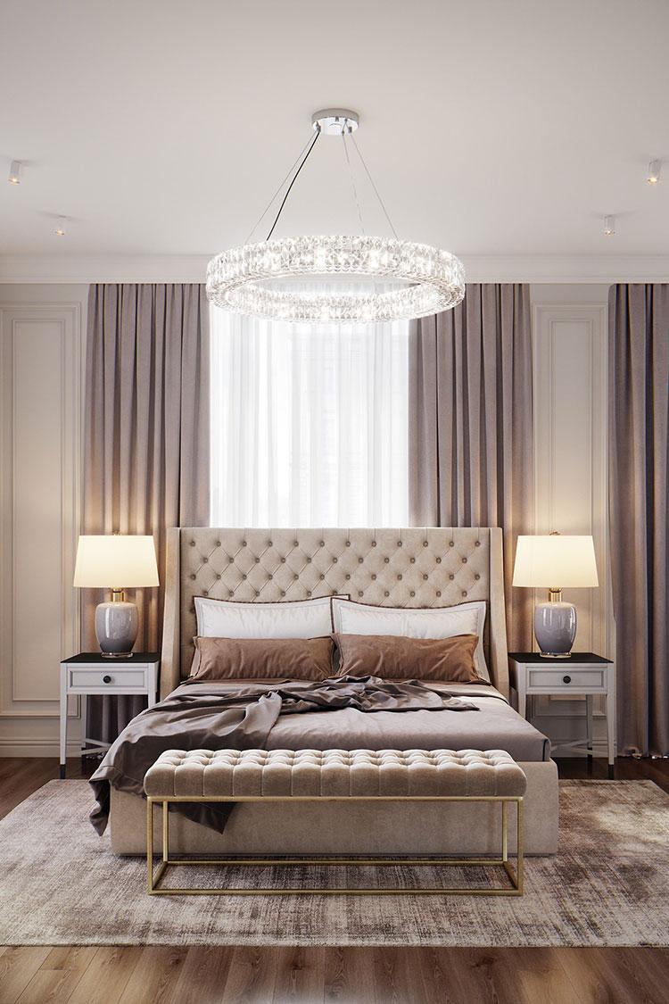 Idee per arredare camere da letto classiche moderne 04