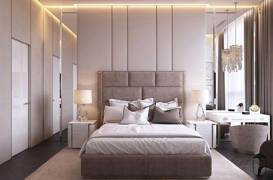 Idee per arredare camere da letto classiche moderne 06
