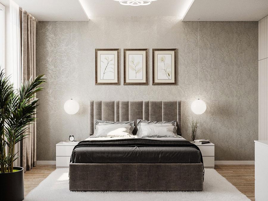 Idee per arredare camere da letto classiche moderne 09