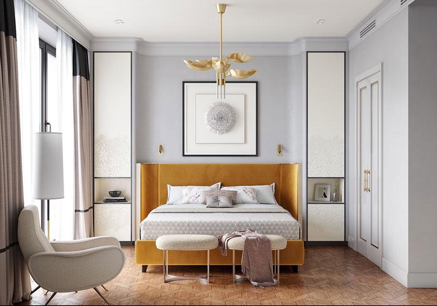 Idee per arredare camere da letto classiche moderne 11