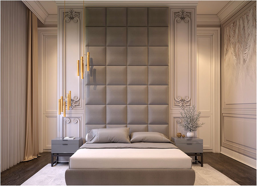 Idee per arredare camere da letto classiche moderne 14